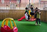 Khách ngoại mê quán cà phê kiêm sân chơi sáng tạo cho trẻ