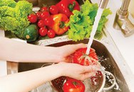 Cách rửa rau củ quả an toàn cho sức khỏe