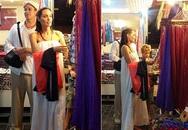Angelina Jolie - Brad Pitt đi chợ trời ở Campuchia