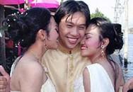 Chú rể cưới hai chị em sinh đôi