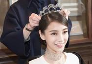 Angelababy đội vương miện sẵn sàng làm công chúa