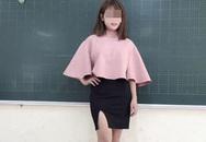"""Nữ giáo viên tiểu học diện """"váy ngắn xẻ cao"""" gây xôn xao"""