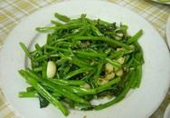 Những cấm kỵ cần biết khi ăn rau muống