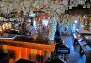 Ngắm quán bar xa xỉ được trang trí bằng... đô la