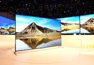 Sony trình diễn TV UHD mỏng nhất thế giới