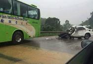 3 cảnh sát tử nạn sau cú đấu đầu của xe Fortuner với ôtô khách