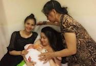 Trang Nhung sinh con gái gần 4 kg