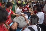 Tàu hỏa đâm nhau, hàng chục người bị thương