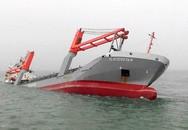 Tàu chở hàng đâm nhau, một tàu bị chìm