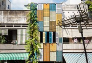 Ngôi nhà có cửa chớp đầy màu sắc tại Sài Gòn được báo Mỹ khen hết lời