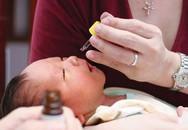 Cách xử trí khi bé bị ngạt tắc mũi