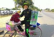 Người trong cuộc kể về hành trình đạp xe 1.071km chứng minh tình yêu