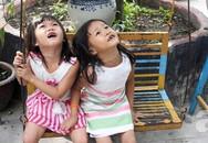 Vụ ba cha con lề đường: Vào chùa, hai bé Huyền - Thoại vẫn muốn về với bố