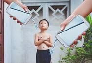 Bộ ảnh 'Em bé công nghệ' gửi gắm tâm sự nuôi dạy con trẻ