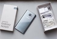 Galaxy Note 5 phiên bản mới vừa bán ở Việt Nam