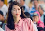Hoa hậu Thu Thảo xinh tươi, giản dị giữa đời thường