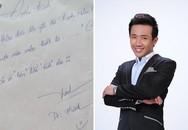 Chữ viết tay của sao Việt xấu hay đẹp?