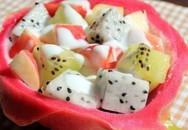 Cách làm hoa quả dầm ngon mát, bổ dưỡng rất đơn giản
