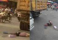Mải dùng điện thoại khi qua đường, thiếu nữ bị xe đâm chết thảm