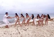 Julia Hồ mặc bikini trong đám cưới bí mật ở Mexico