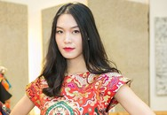 Hoa hậu Thùy Dung diễn thời trang ở Italy
