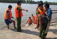Giải cứu thanh niên mắc kẹt trên cầu khi nhảy sông tự tử