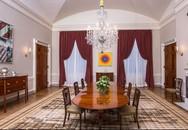 Vì sao phòng ăn của Nhà Trắng luôn được làm mới?