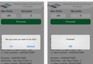 Cách chuyển đổi mã vùng hàng loạt trên danh bạ smartphone