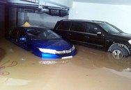 Thiệt hại nhiều tỷ đồng vụ trăm xe ngập trong hầm chung cư