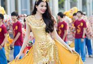 Dàn người đẹp khoe sắc rạng rỡ ở Carnaval Quảng Bình
