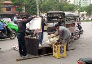 Xuất hiện 'hố tử thần' giữa phố Hà Nội