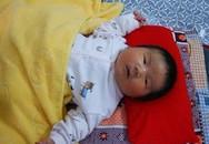 Bé trai vừa chào đời nặng 6,2kg