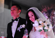 Vợ chồng Tâm Tít khoá môi ngọt ngào trong đám cưới