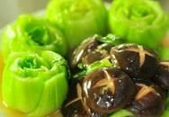 3 cách chế biến rau cải thìa đơn giản mà ngon