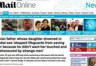 """Tin cha để con gái chết đuối khiến báo chí thế giới """"đỏ mặt"""""""