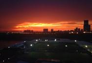 Bầu trời Hà Nội đẹp ngỡ ngàng sau cơn mưa lớn