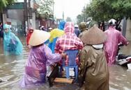 """Xe bò lội nước đi... đẻ ở Hà Nội: """"Vợ tôi đã sinh đôi"""""""