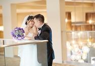 Phạm Thanh Thảo khoe ảnh cưới tông trắng - tím ấn tượng
