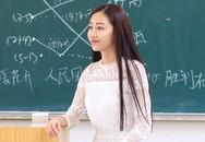 Cô giáo 9X dáng chuẩn như người mẫu gây sốt mạng