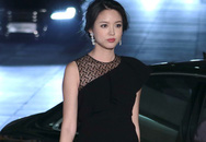 Hoa hậu Trương Tử Lâm béo 'hai cằm' khi mang bầu