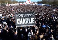 """""""Biển"""" người tuần hành phản đối tấn công khủng bố tại Pháp"""