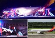 Máy bay trượt đường băng, hàng chục người bị thương
