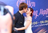 Tim - Trương Quỳnh Anh khóa môi ngượng ngùng ở sự kiện