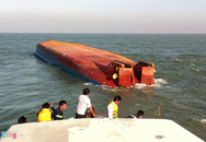 Hiện trường cứu hộ vụ chìm tàu, 5 người mất tích
