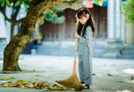 Đẹp thoát tục bộ ảnh cô bé Phật tử 7 tuổi trong mùa Vu Lan