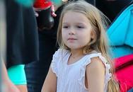 Con gái Becks xinh như thiên thần chơi ở Disneyland