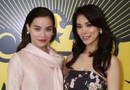 Hoa hậu Hoàn vũ 2007 khoe nhan sắc nổi bật bên Hồ Ngọc Hà