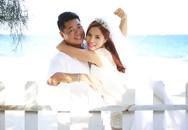 Ảnh cưới ngọt ngào của Ngô Mai Trang và ông xã doanh nhân
