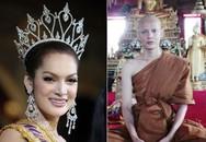 3 Hoa hậu bất ngờ xuống tóc đi tu