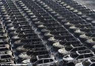 Hàng ngàn xe ô tô mới tinh bị thiêu rụi trong vụ cháy nổ kinh hoàng